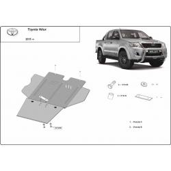 Toyota Hilux Getriebeschutz a filtr pevných částic - Stahl