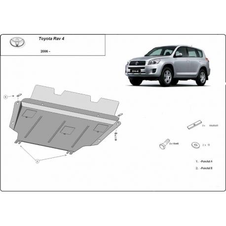Toyota RAV 4  cover under the engine - Metal sheet