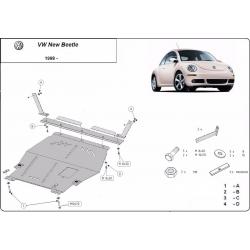 VW New Beetle Unterfahrschutz 1.6,1.8Turbo,2.0 - Stahl