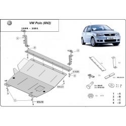 VW Polo Unterfahrschutz 6n2 1.0, 1.2, 1.4, 1.6 - Stahl